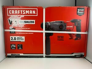 New Craftsman V20 Hammer Drill Cordless Sds Rotary Tool Only cmch233b