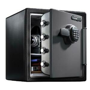 Sentrysafe Sfw123es Fire resistant Safe And Waterproof Safe With Digital Keypad
