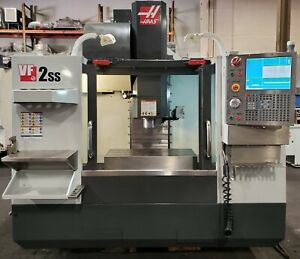 Haas Vf 2ss Vertical Machining Center 4th Axis Ready Cnc Mill Ss