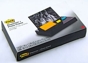 3m Post it Dispenser Plus Photo Frame Pop up 3 x3 Notes Dispenser Weighted