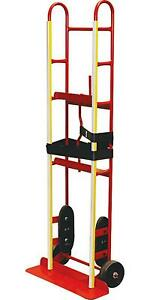 Hand Truck Dolly Move Large Appliances And Furnitures With Manual Belt Tightener