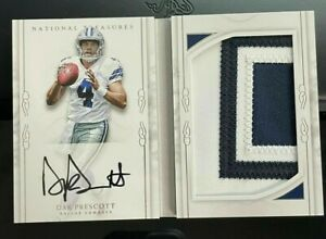 THE BEST NFL CHASE HOT PACK MYSTERY PERIOD RPA DAK PRESCOTT AUTO PATCH RC🔥🔥 $40.00