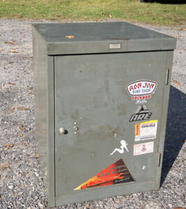 The General Fireproofing Co Industrial Metal Storage Cabinet Machinist