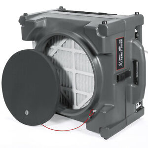 Commercial Industrial Hepa Negative 1 4hp Air Machine Scrubber 2 stage Purifier