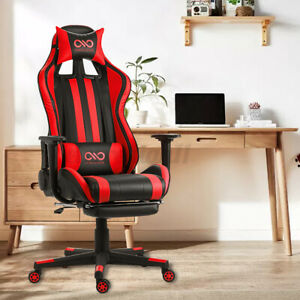 Executive Office Chair Gaming Chair Computer Swivel Desk Seat High Back Recliner