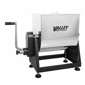 Valley Sportsman 7 Gal 40 Pound Stainless Steel Sausage Meat Mixer for Parts