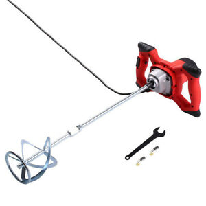 1800w Electric Portable Handheld Concrete Mixer Cement Stirrer For Thinset Mud