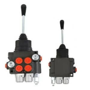 2 Spool 11gpm Hydraulic Directional Control Valve Tractor Loader W Joystick
