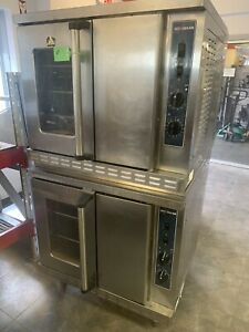 2019 Electric Full Size Alto Shaam Double Stack Convection Oven 208v 3 Ph