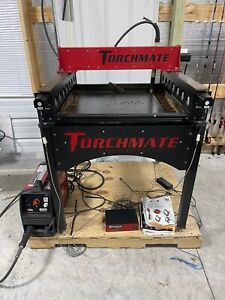 Torchmate 2x2 Cnc Router plasma Cutter Water Table With Lincoln Plasma