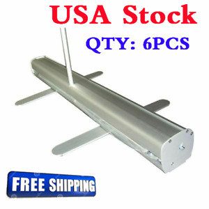 Us 6pcs pack 33 5 X 80 H Economic Roll Up Banner Stand Booth Display Stand