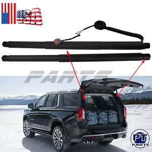 2 Rear Tailgate Power Lift Support For 2015 19 Cadillac Gmc Yukon Chevy Suburban