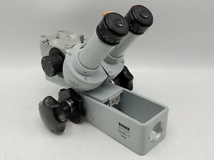 Carl Zeiss Opmi 1 Medical Surgical Dental Microscope Head Made In West Germany