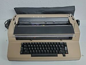 Ibm Correcting Selectric Iii Electric Typewriter With Dust Cover Tested Read