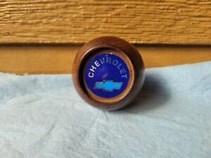 Chevy Wood Shifter Knob Vintage
