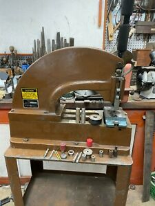 Diacro Punch Press No 2 Stand Die Holder Punches
