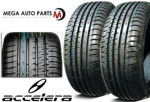 2 Accelera Phi R 225 50r16 96w All Season Ultra High Performance Uhp Race Tires