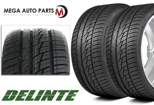 2 Delinte Ds8 255 50zr20 109y All Season Ultra High Performance 50k Mile Tires
