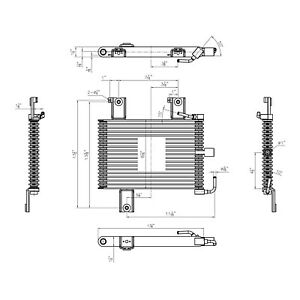 Ni4050101 Automatic Transmission Oil Cooler Assembly