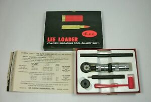 d Vtg 1963 LEE LOADER .45 70 GOVERNMENT Hand Reloading Kit in Box w Charge Table $37.00