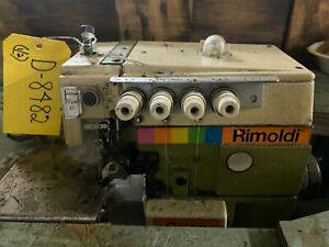 Rimoldi Orion 627 Serger Overlock Industrial Sewing Machine 2 needle Head Only
