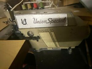 Union Special 39 500 Qw Mark Iv 4 Thread Serger Sewing Machine Head Only