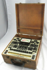 Vintage Precision Apparatus Co 920 Electronamic Tube And Set Tester Untested