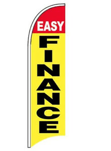 Easy Finance Windless Swooper Feather Flag 2 5x11 5 Ft Tall Banner Sign Yb