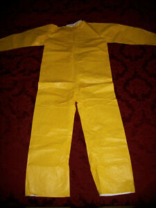 Dupont Tychem Qc Tyvek Coverall Personal Protective Suit Medium New