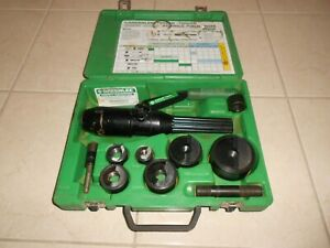 Greenlee 7804sb Quick Draw Hydraulic Knock Out Punch Set 1 2 To 2