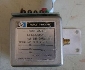 Hp Model 5086 7224 Oscillator 4 2 5 5 Ghz
