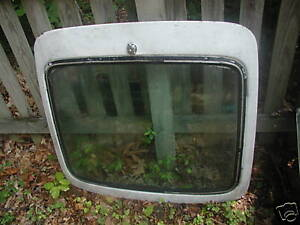 Triumph Gt6 Rear Hatch Glass With Defroster