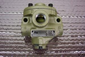 Ross 2753a2001 Pneumatic Valve 1 4 Npt New Condition No Box