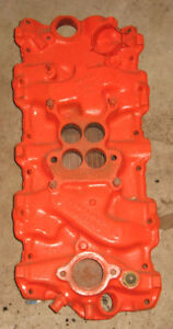 61 Chevy 348 Intake Manifold 1961 Jan
