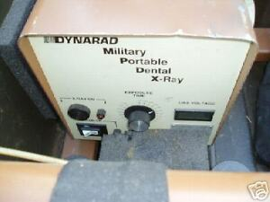 Portable Dental X ray Machines Military Dynarad Company