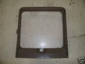 Dodge Conversion Van Side Door Trim Shroud Tan