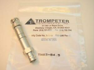Tng3 84 5 Trompeter Twinax triax Termination Connector