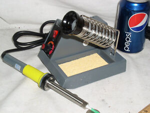 Brand New Pro Nib Regulated Soldering Iron Station 50w 58w Free Xtra Tip solder