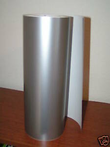Silver Vinyl 12 Width Roll sign Decal Sheet high Gloss by The Foot