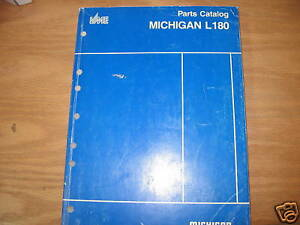 Michigan L180 Wheel Loader Parts Catalog