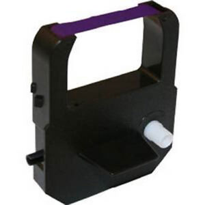 Lathem Time Clock Ribbon 1000e 1500e 5000e 7000e 7500e Lt5000 Vis6008 Purple