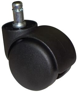 Heavy Duty Desk Office Chair Replacement Caster Wheel Roller 5 Pc Set