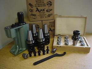 Bison Collet Chuck 5 Holders 5 Cnc Pull Studs