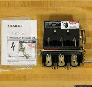 Siemens Mcs603r Disconnect Switches 30 Amp 600 V 3 Pole New