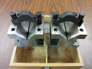 2 3 8 Precision V block Pair W Clamps