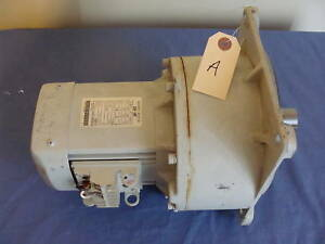 New Old Stock Mitsubishi Geared Motor Gm hf 27 Hp 220v 3 Phase