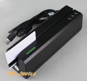 Msre206 Hico Magnetic Card Reader Writer Encoder 605 606