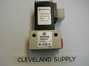 Norgren Spwg 1617 Solenoid Valve 3 8 Npt 0 3 Bar 220vac New Condition No Box