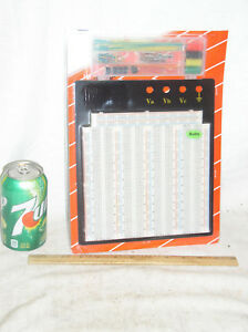 3220 T p Tie Point Solderless Protoboard Breadboard Circuit Board Free Extras