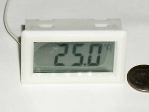 New Digital Lcd Celcius Thermometer Temperature Meter Temp Probe C Ship From Usa